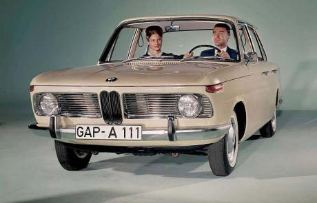 L'histoire et l'évolution des BMW 1500 1800 et 2000