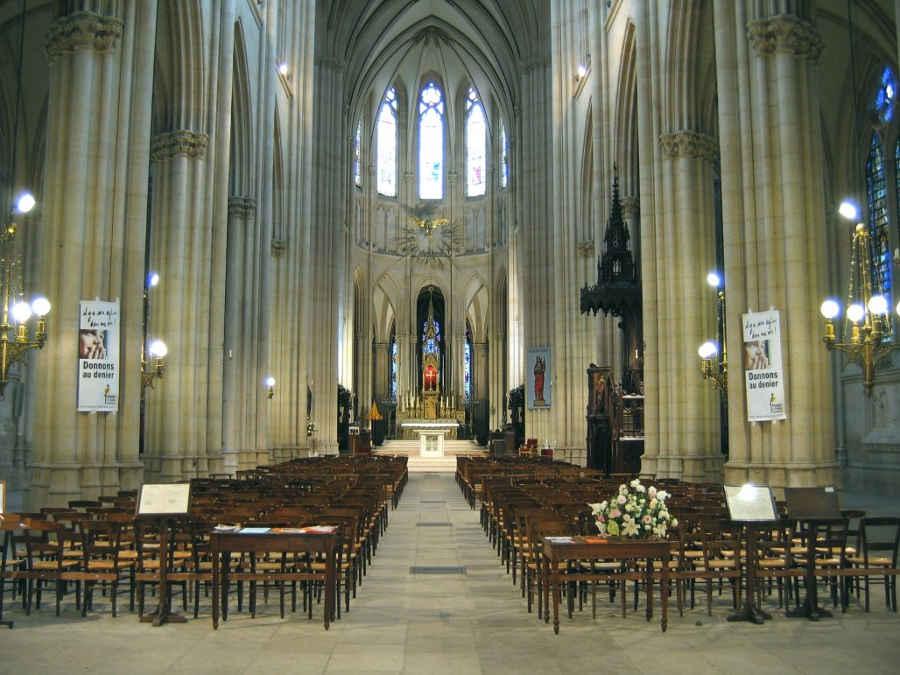 Le choeur de Sainte Clotilde