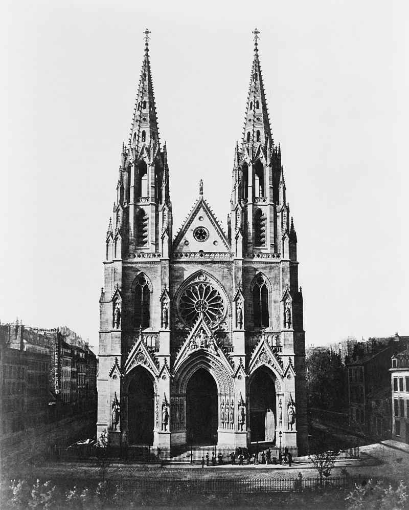 Sainte Clotilde vers 1860
