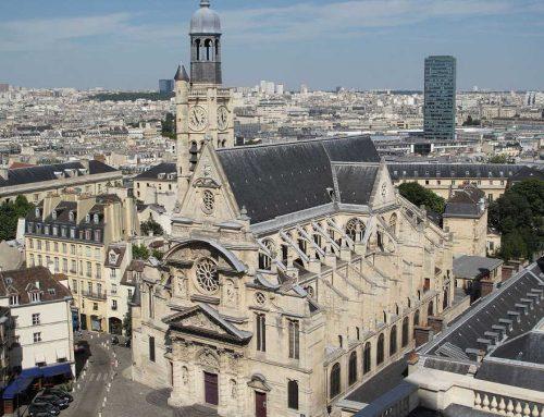 L'Eglise Saint Etienne du Mont à Paris