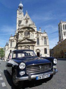 Eglise Saint Etienne du Mont Peugeot 404