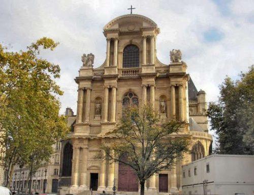 L'Eglise Saint Gervais à Paris