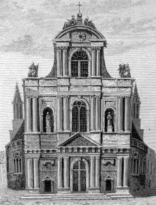 Eglise Saint Gervais en 1856