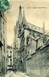 Eglise Saint Severin carte postale