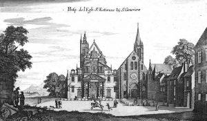 Eglise et Abbaye au XVII