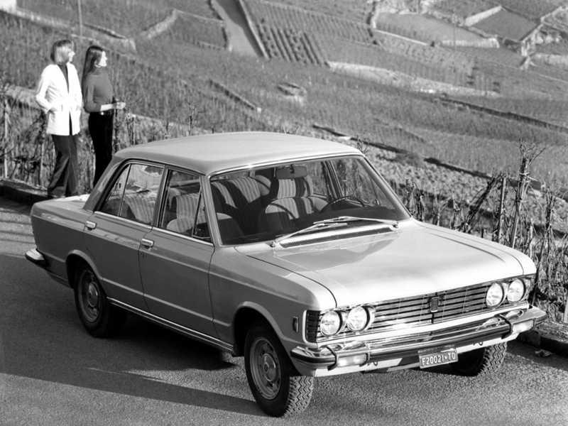 Fiat 130 guide des berlines des annees 70