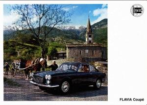 Lancia Flavia Coupé Pininfarina brochure