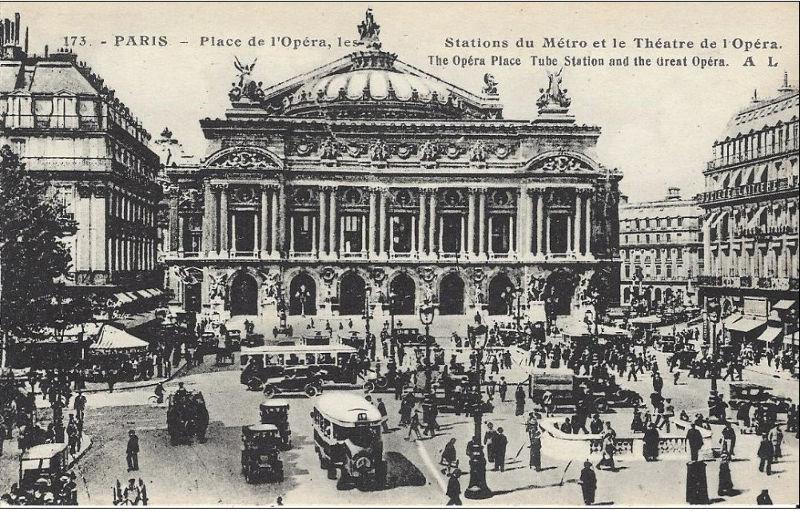Opera Garnier histoire