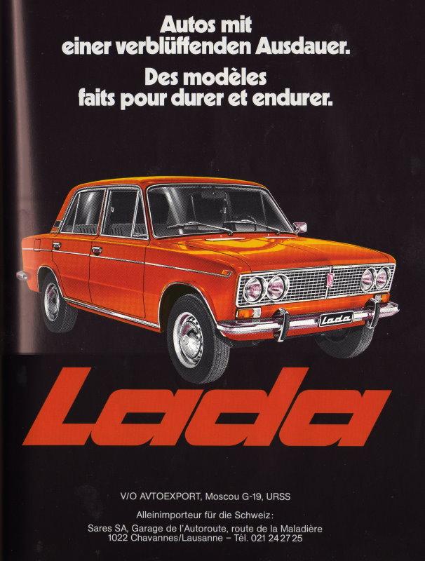 Publicité Lada 1300 1500