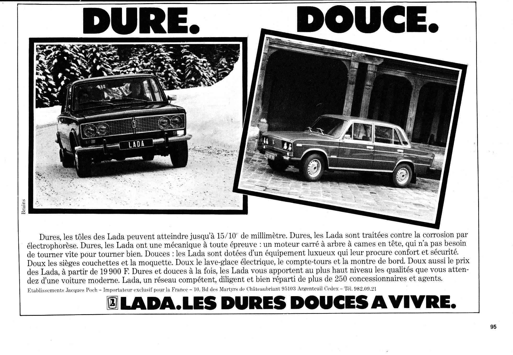Publicité Lada 2103 2106