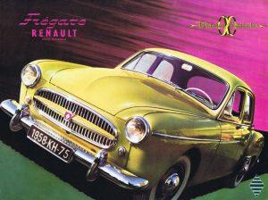 1958 Renault Fregate brochure