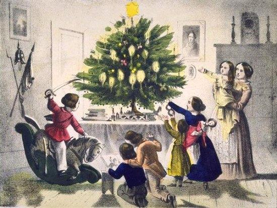 Sapin de Noel (19e siecle)