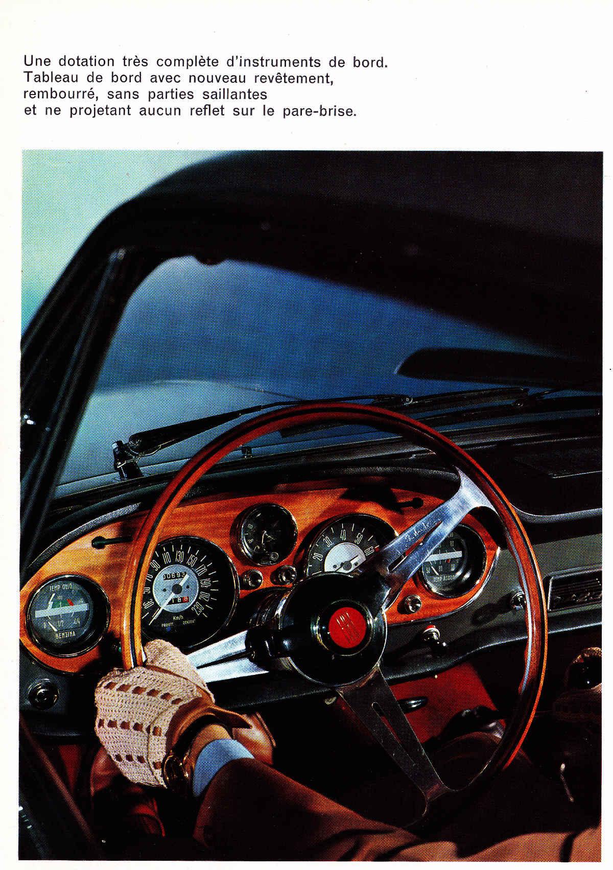 Volant Fiat 2300S Coupé