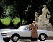 Bela Barenyi Mercedes W113