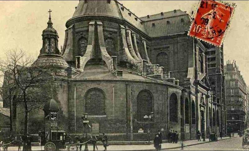 Eglise Saint Nicolas du Chardonnet carte postale
