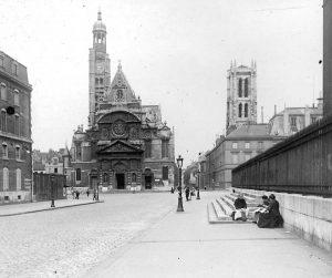 La Tour Clovis Lycee Henri IV 1912