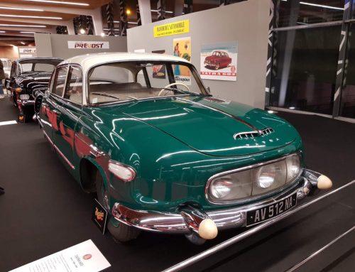 L'exposition Tatra à Rétromobile 2020