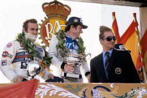 Depailler podium Espagne 1979