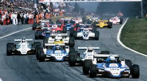 Depart GP Belgique Ligier 1980