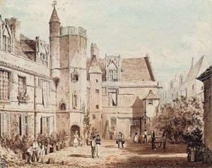 Hotel de Cluny en 1829