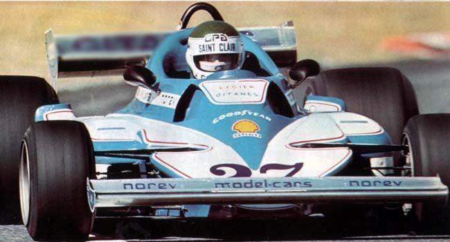 Jean Pierre Jarier Ligier JS7