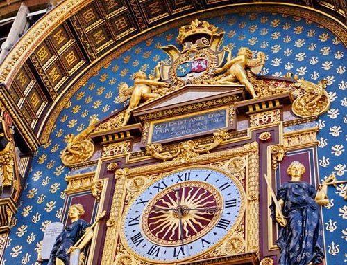 Le Quai de l'Horloge à Paris