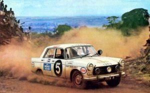 Peugeot 404 East African Safari