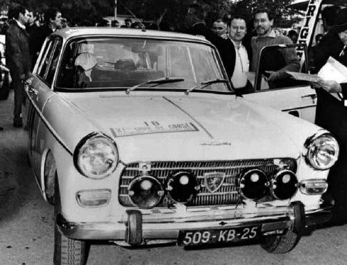 Les victoires de la Peugeot 404 en rallye