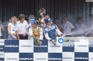 Podium GP Afrique du Sud 1980