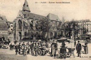 Eglise Saint Medard rue Mouffetard