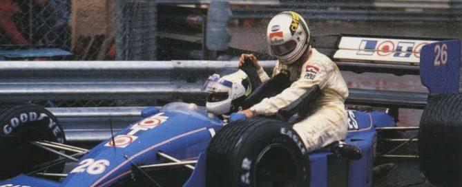 Johansson taxi Monaco Ligier JS31