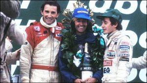 Laffite podium Canada 1981