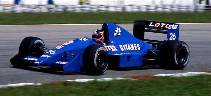 Ligier JS33 Grouillard