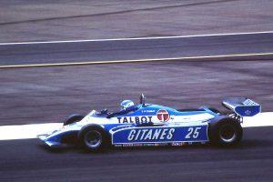 Patrick Tambay Talbot Ligier JS17