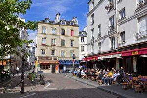 Place de la contrescarpe rue Mouffetard