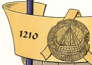 Blason de Paris 1210