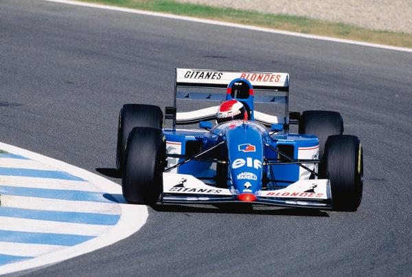 Johnny Herbert Ligier JS39B