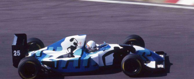 Ligier JS39 Brundle Hugo Pratt