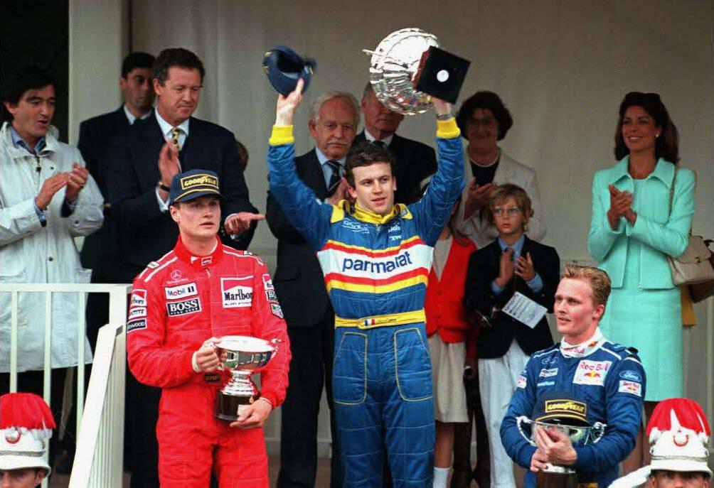 Panis podium Monaco 1996