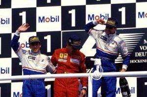 Podium Allemagne 1994 Ligier
