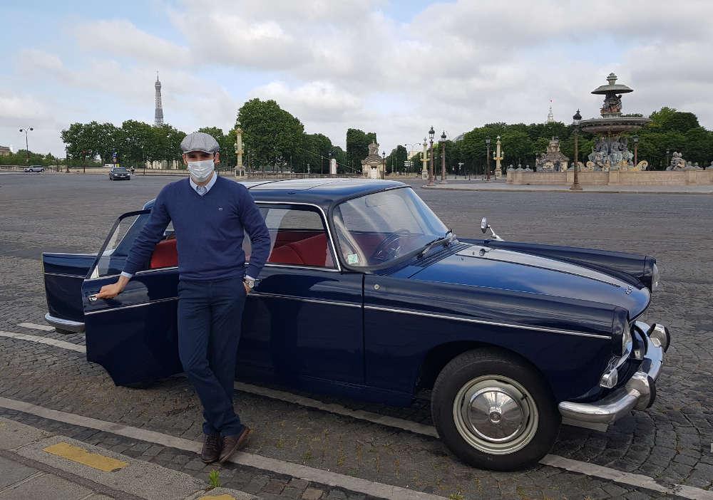 Peugeot 404 Concorde Paris