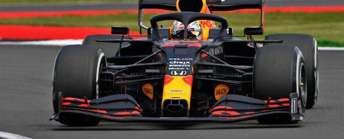 Carnet de notes GP 70th anniveraire Max Verstappen