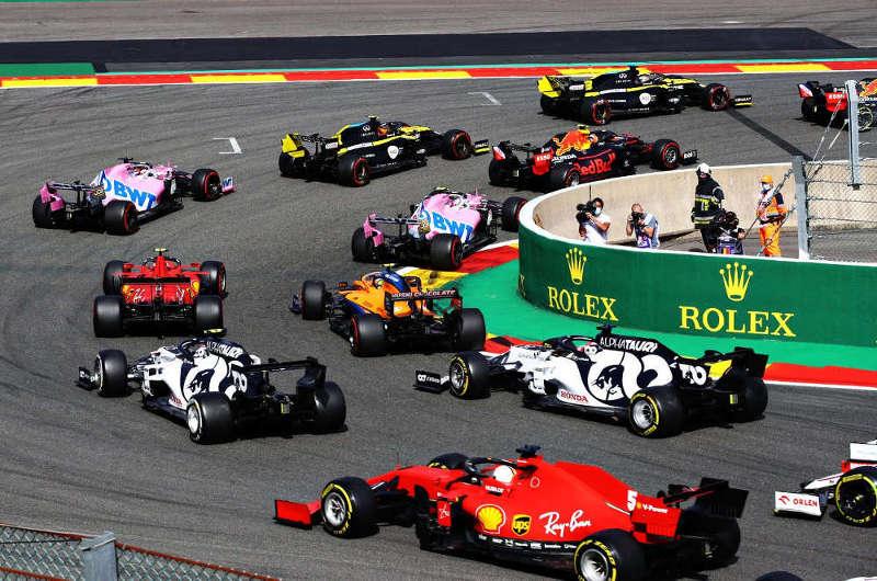 Carnet de notes Grand Prix Belgique 2020