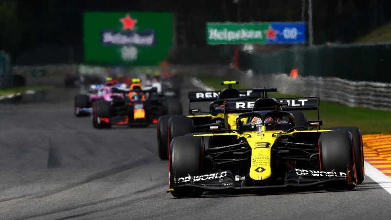 Daniel Ricciardo GP Belgique 2020
