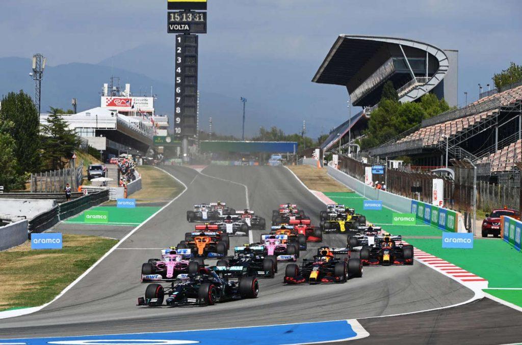 Grand Prix Espagne 2020 carnet de notes pilotes
