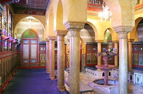 Hamman mosquee de Paris