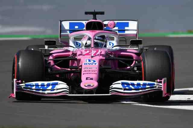 Nico Hulkenberg GP Angleterre 2020