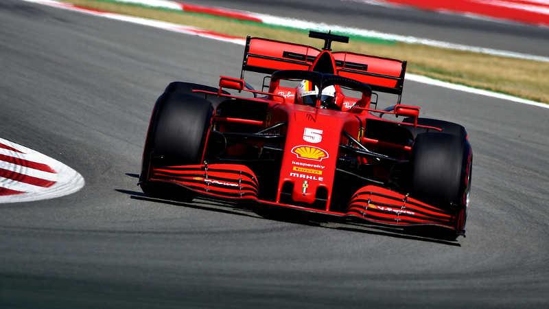 Sebastian Vettel Grand Prix Espagne 2020