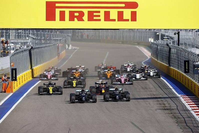 Carnet de notes Grand Prix de Russie 2020