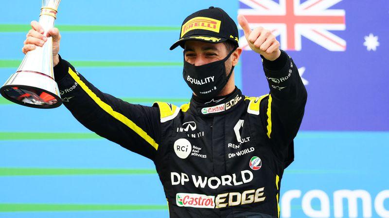 Daniel Ricciardo Eifel Grand prix 2020